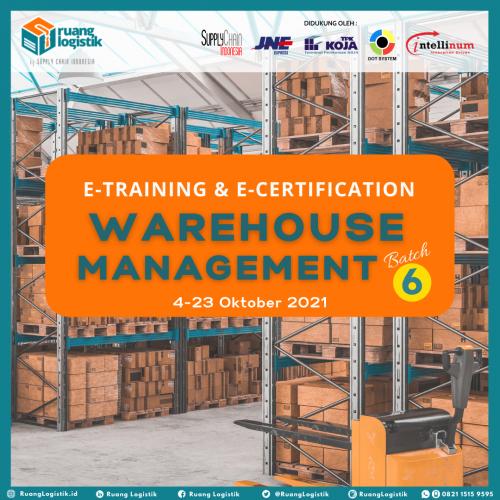"""Warehouse Management"" Batch 6"
